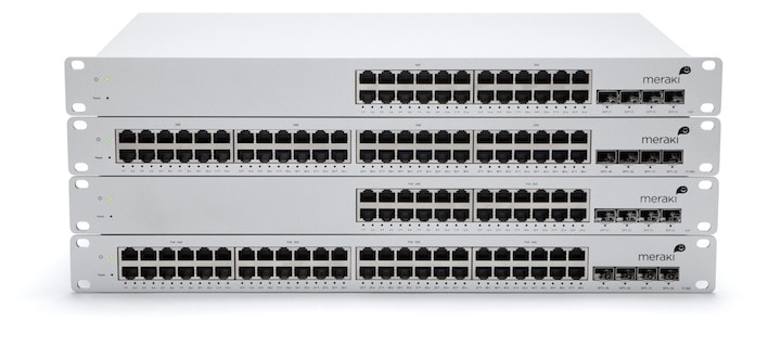 Meraki MS Cloud Managed Switches