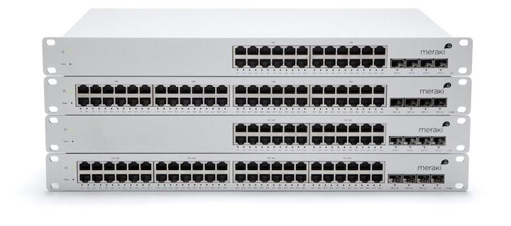 Meraki MS Cloud Managed Switches