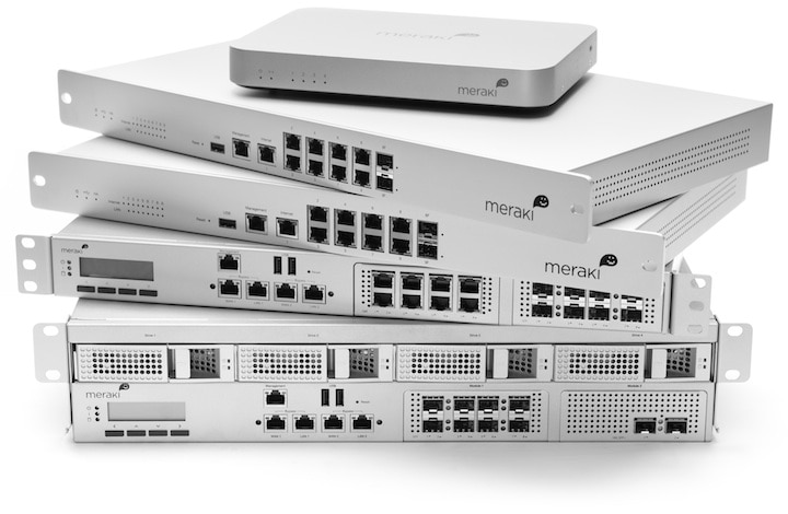 Meraki MX Cloud Managed Security Appliances