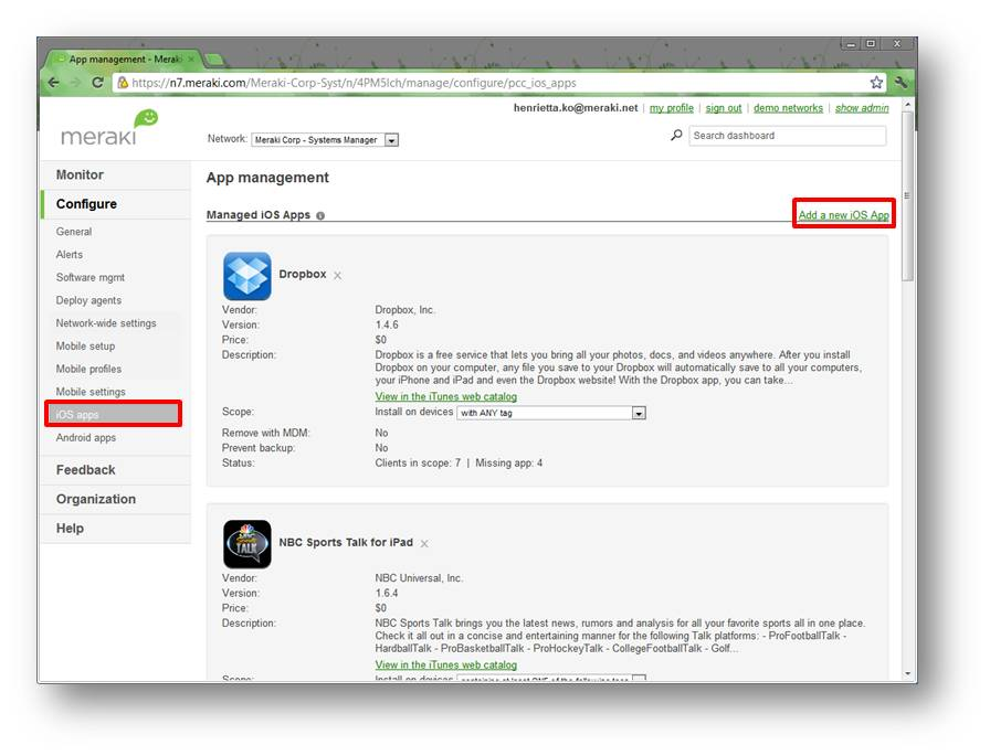 Deploy paid iOS apps in 3 easy steps - Cisco Meraki Blog