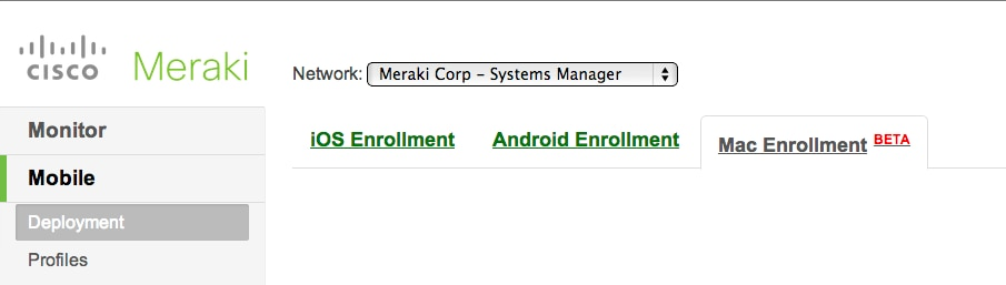 Max OS X Entrollment