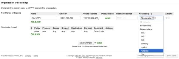 VPN tagging