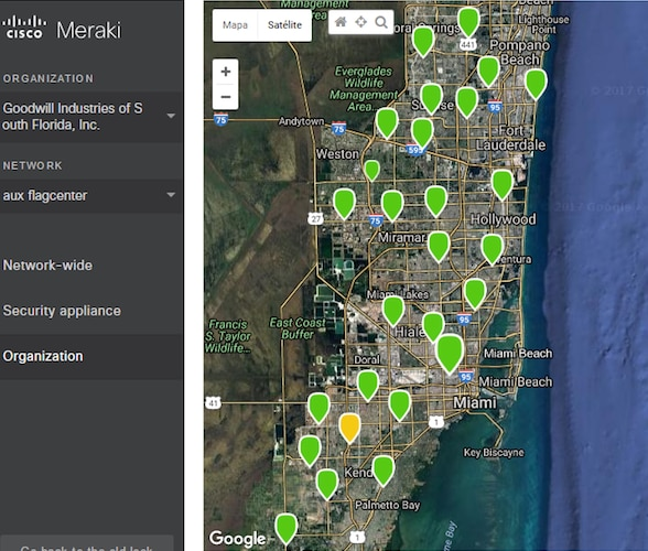 Goodwill Industries of South Florida Dashboard