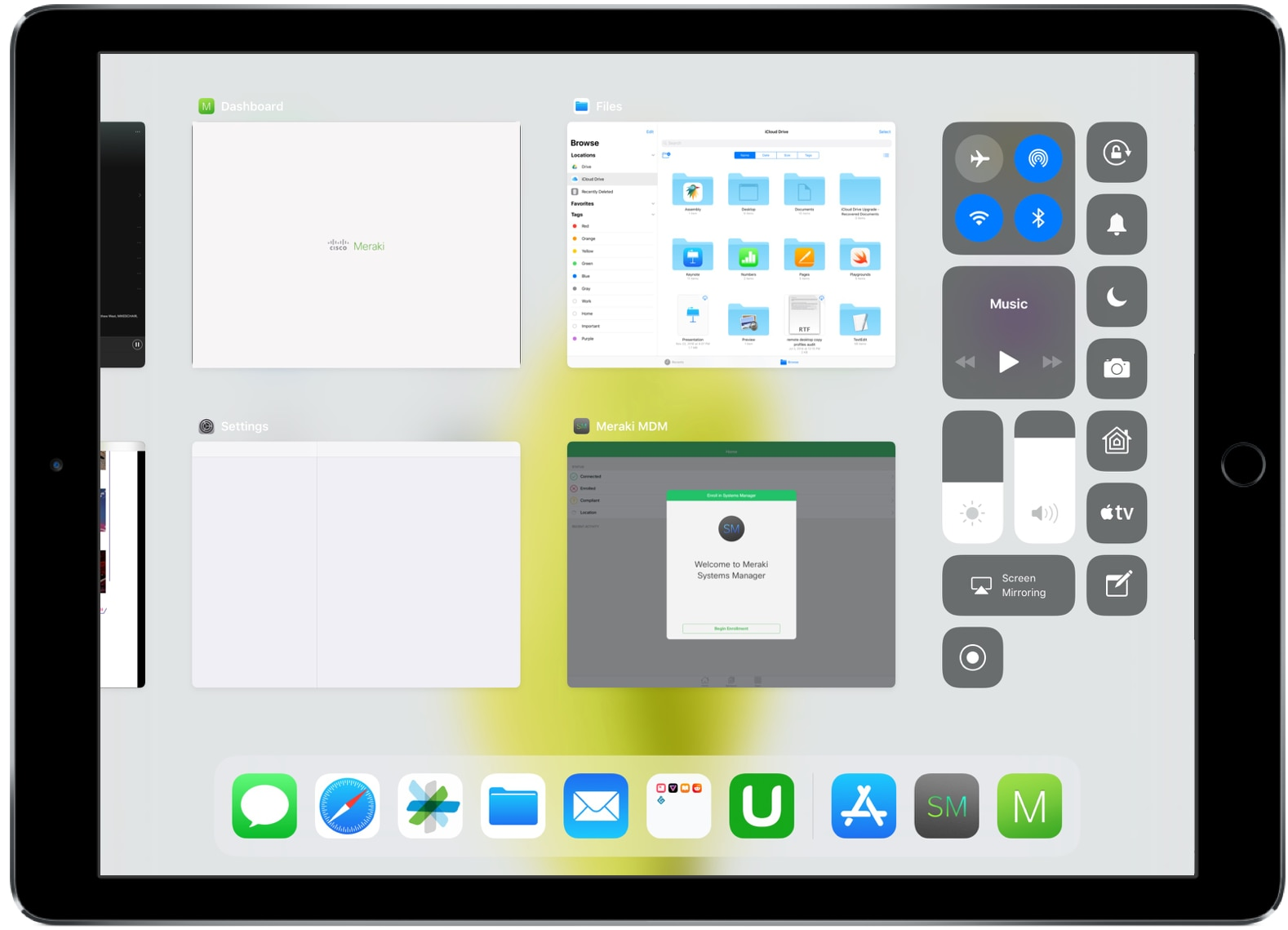 Dock and App Switcher