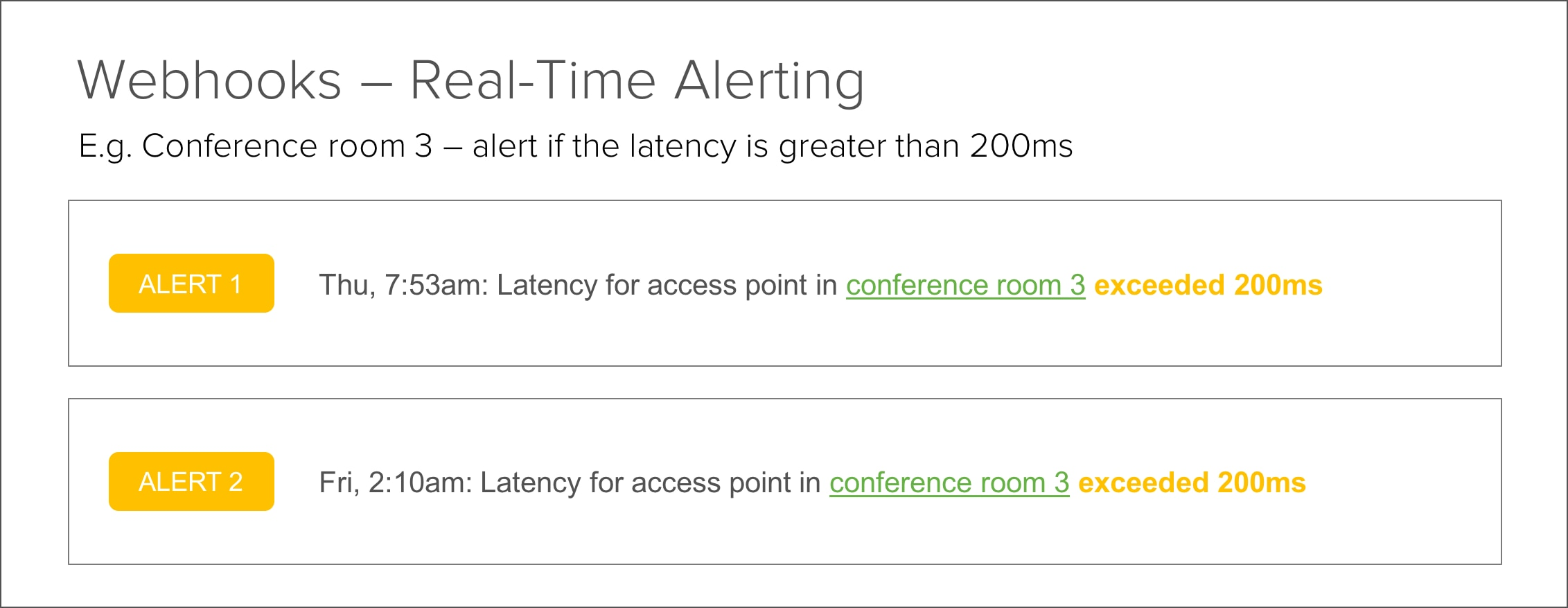 Real-Time Alerting with Webhooks - Cisco Meraki Blog Cisco Meraki Blog