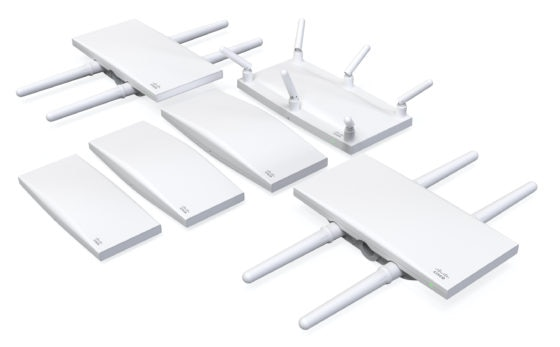 Meraki Doubles Wi-Fi CERTIFIED 6™ Family