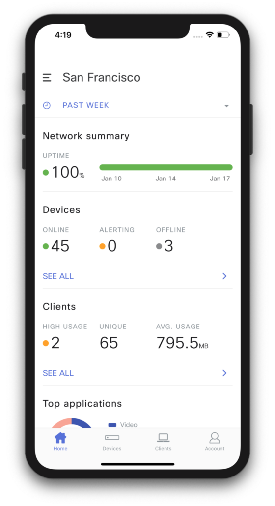 The Next Generation Meraki Mobile Experience