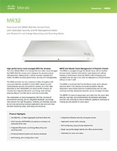MR32 Datasheet