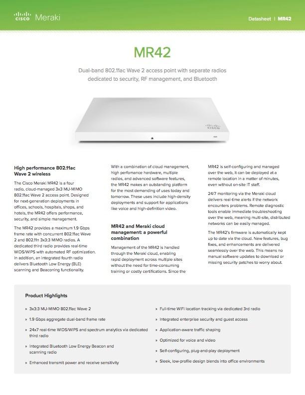 MR42 Datasheet