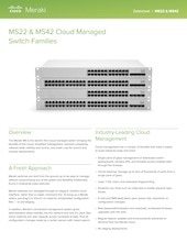 MS22 and MS42 Datasheet (Archived)