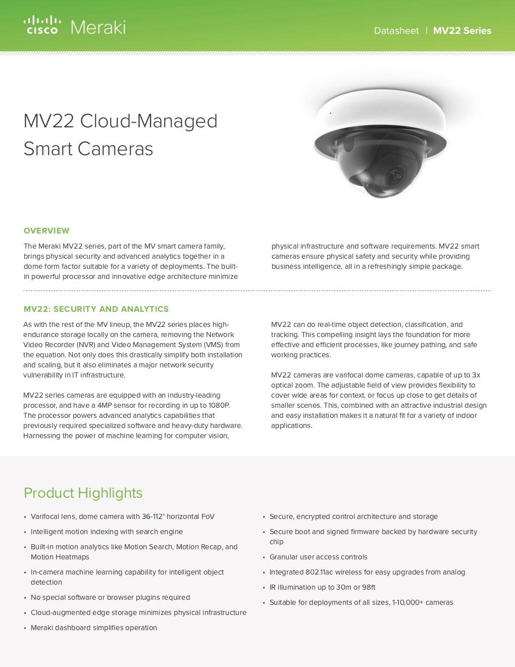 MV22 Datasheet