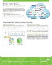 Application Traffic Shaping Datasheet