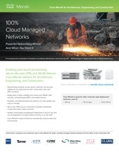 Meraki for Architecture / Engineering / Construction