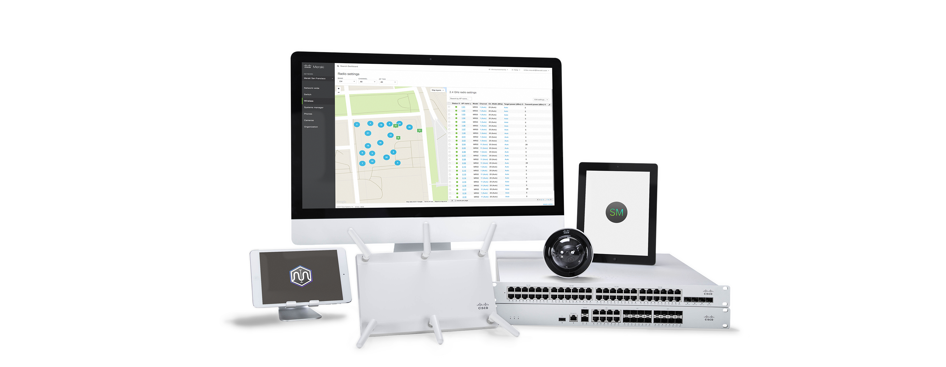 Meraki Cloud-managed Access Points