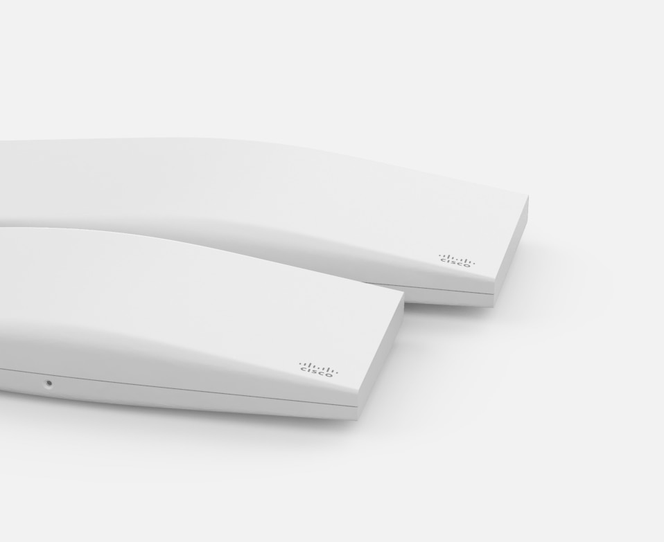 New Wi-Fi 6 Meraki access points: high efficiency for high-density wireless networks.