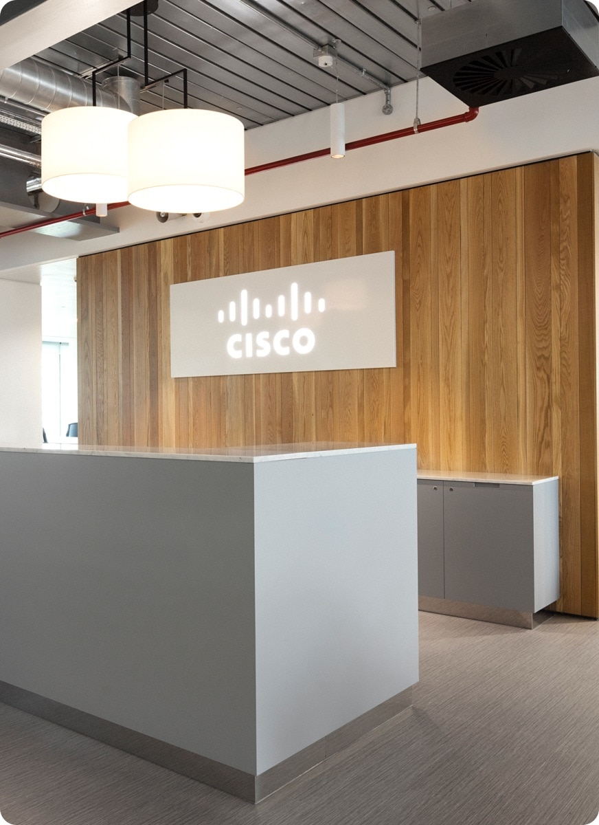 Cisco Meraki Receptionist Desk