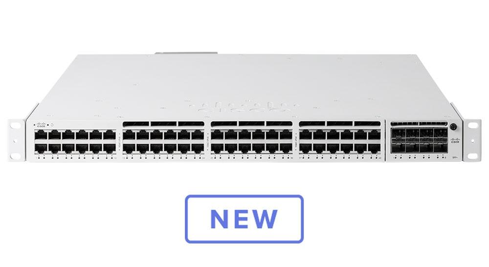 Cisco Meraki Cloud Managed MS390-24P - switch - 24 ports - managed - rack-mountable