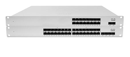 Cisco Meraki Cloud Managed Ethernet Aggregation Switch MS410-16 - switch
