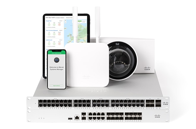 Cisco Meraki WAN,LAN, Camera, and Mobile devices