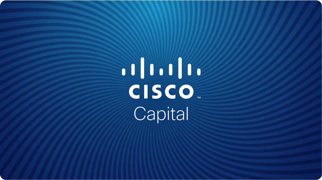 Cisco Capital Financing Option Image